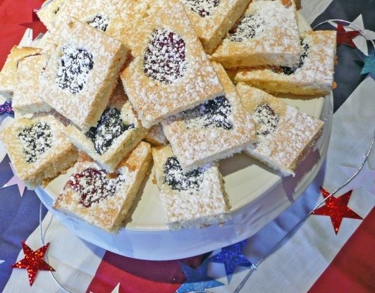 Holiday Fruit Squares