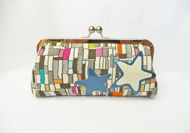 Chicago Fine Threads hand crafted Paris Lights Clutch