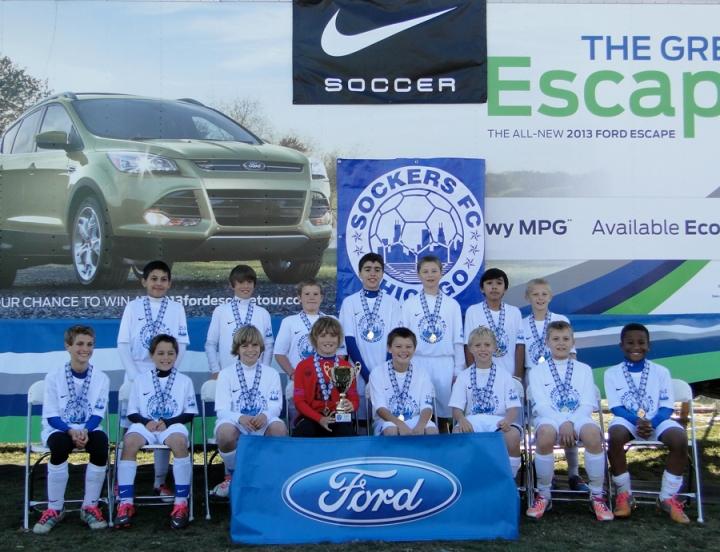 Sockers FC U12B MDL Champions